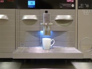 Kaffeemaschine - Dineg mit Gesicht