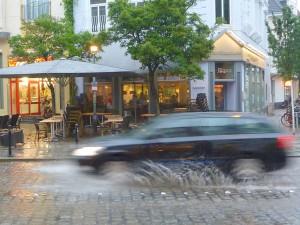 Sommerwetter im Bremer Viertel