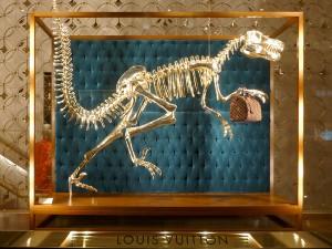 Dinosaurier Louis Vuitton