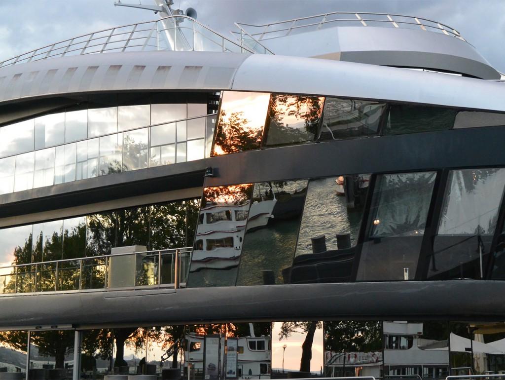 Schiff in Bregenz