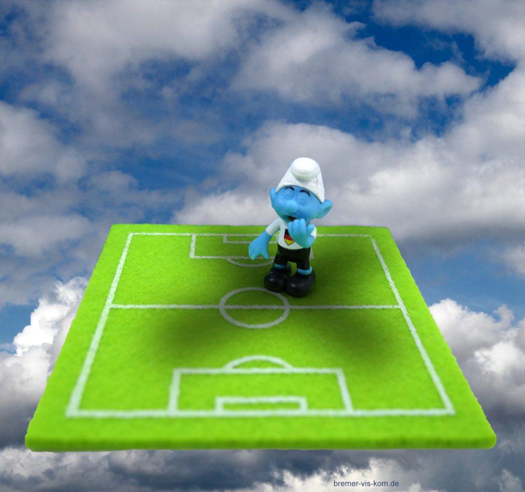 Fußball Schlumpf
