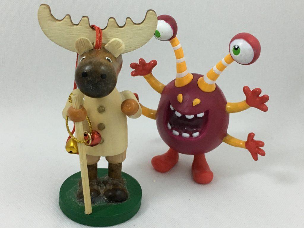 Elch und Monster