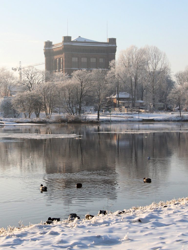 Kommode im Winter Bremen