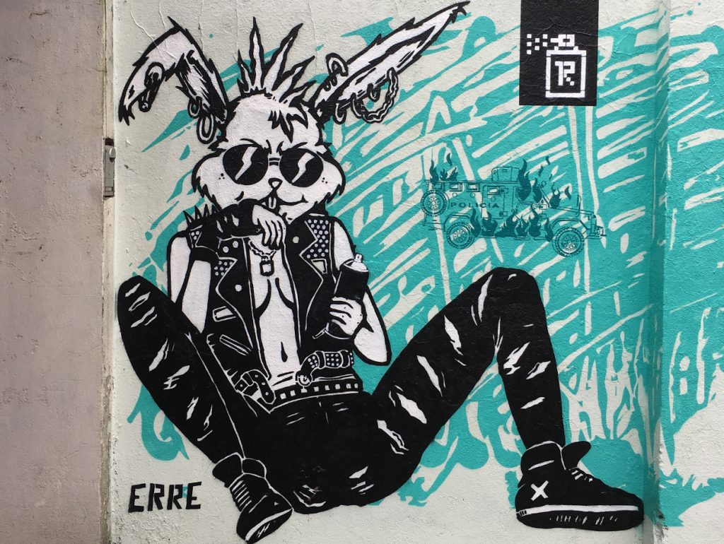 Grafifti Hase Bremen