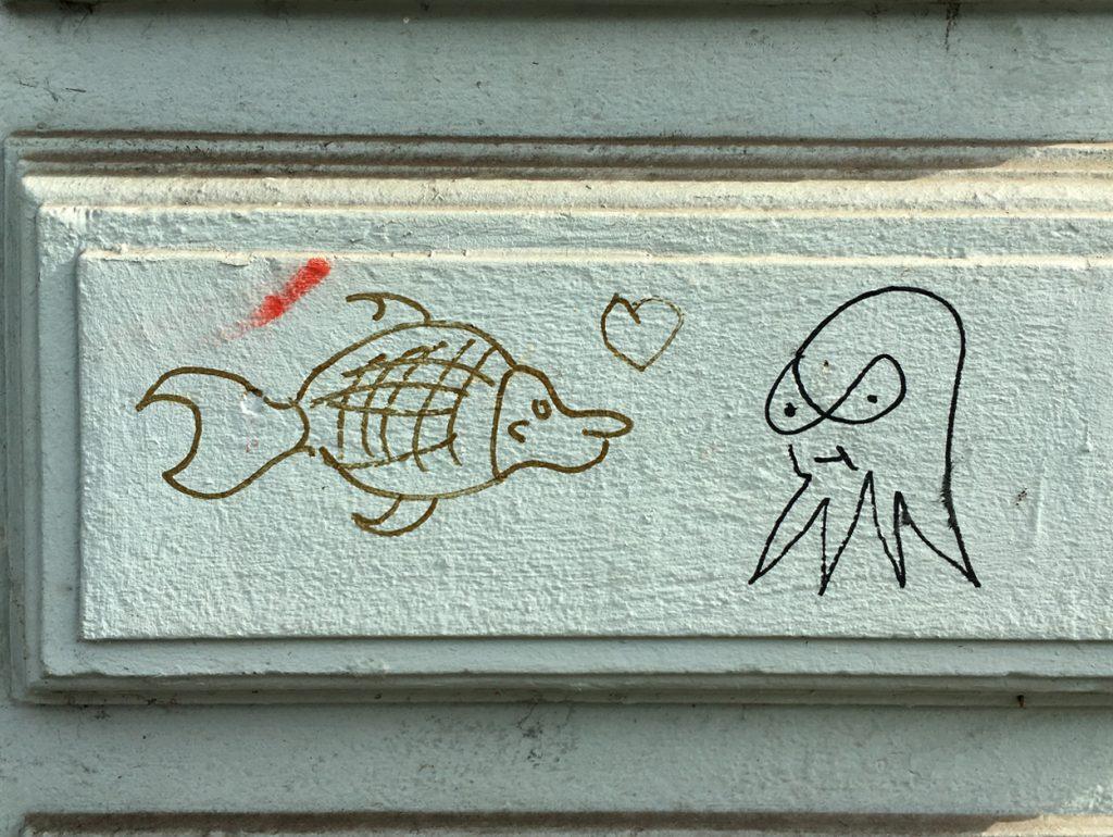 Viertel Grafitti