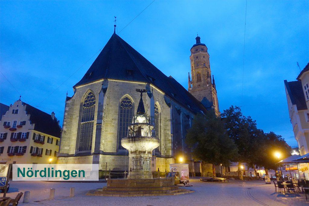 Besuch in Nördlingen