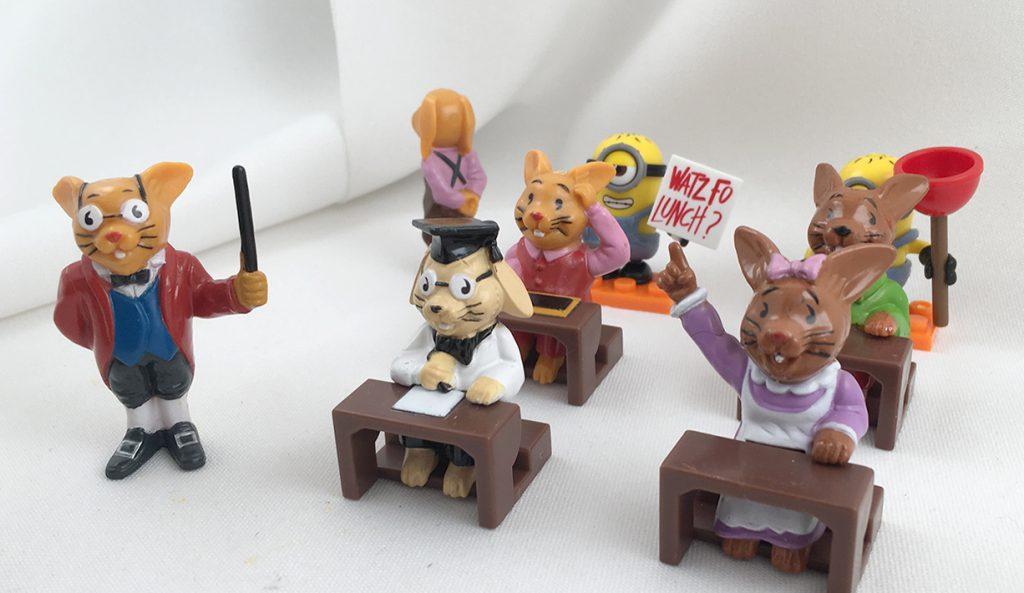 Häschenschule Minions