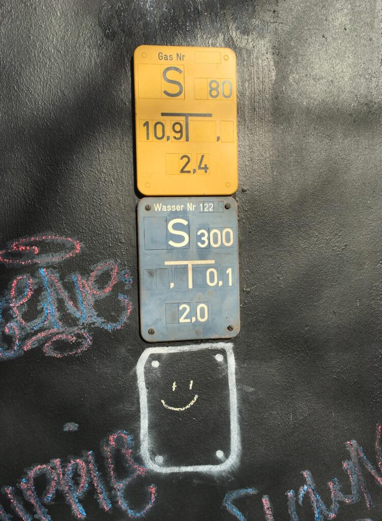 Graffiti, Graffito